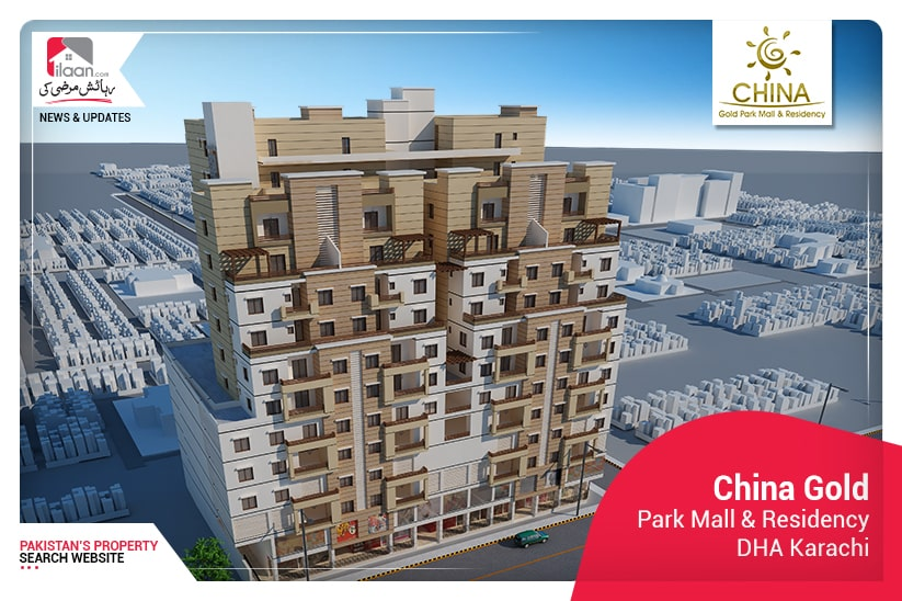China Gold Park Mall & Residency promises a lavish lifestyle