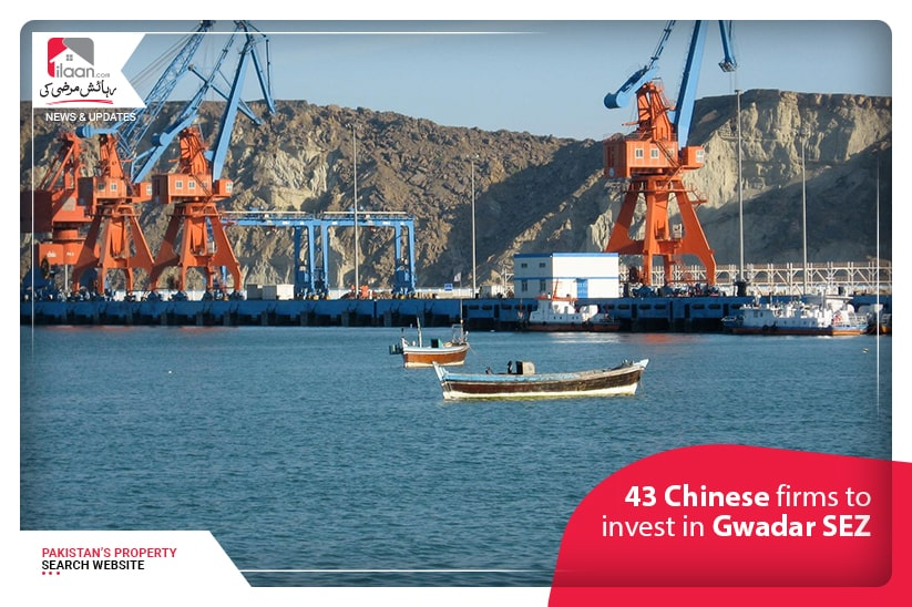 43 Chinese firms to invest in Gwadar SEZ