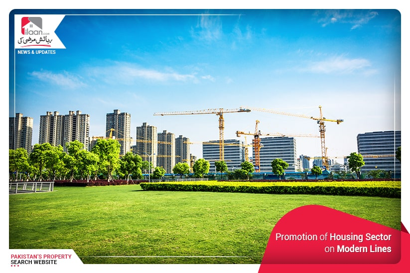 Promotion of Housing Sector on Modern Lines