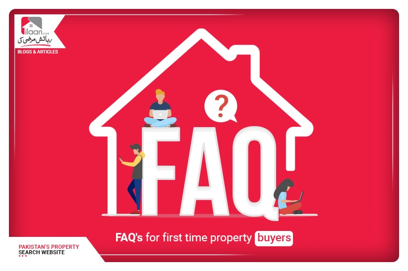 FAQ's for first-time property buyers
