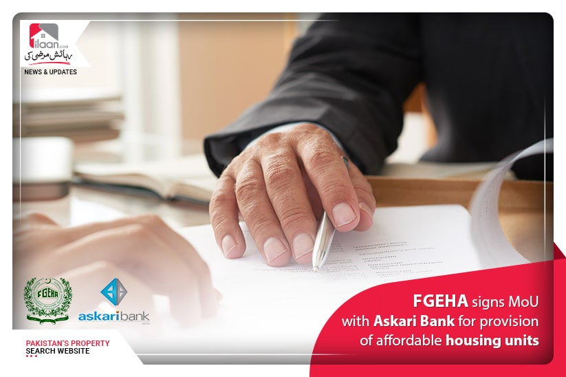 FGEHA signs MoU with Askari Bank for Provision of affordable Housing Units