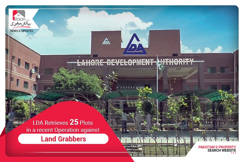 LDA Retrieves 25 Plots in a Recent Operation against Land Grabbers