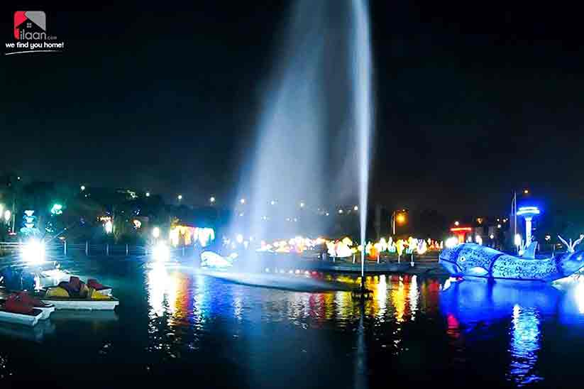 Bahria Town Opens Glow Park in Rawalpindi & it is Pure Magic