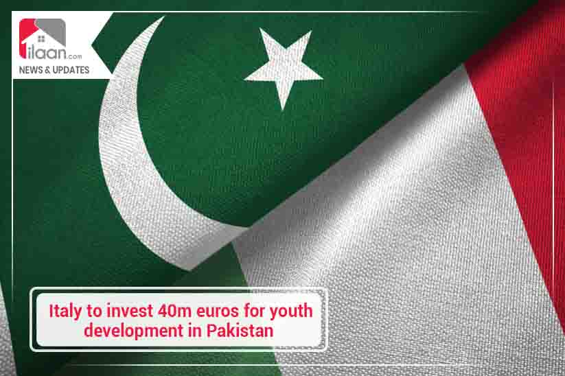 Italy to invest 40m euros for youth development in Pakistan
