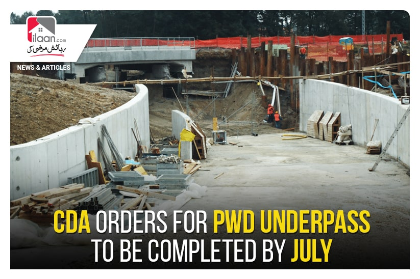 CDA orders for PWD underpass to be completed by July