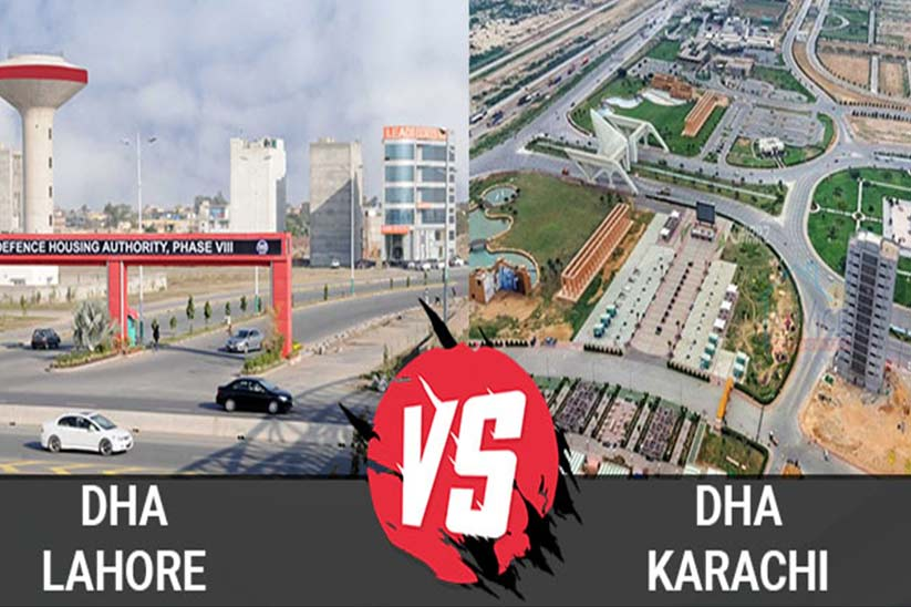 Living in DHA Karachi or DHA Lahore – Real Estate Price Differences and Comparison