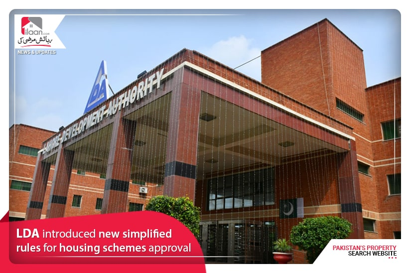 LDA introduced new simplified rules for housing schemes approval