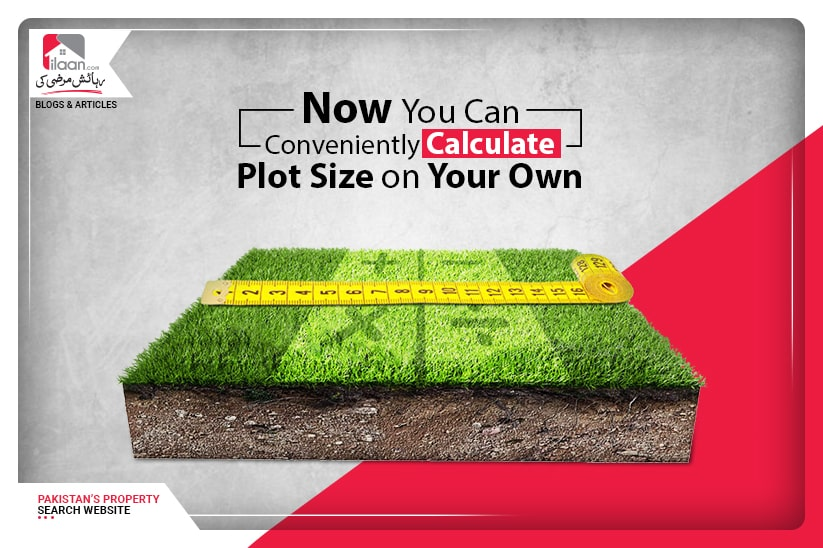 Now You Can Conveniently Calculate Plot Size On Your Own