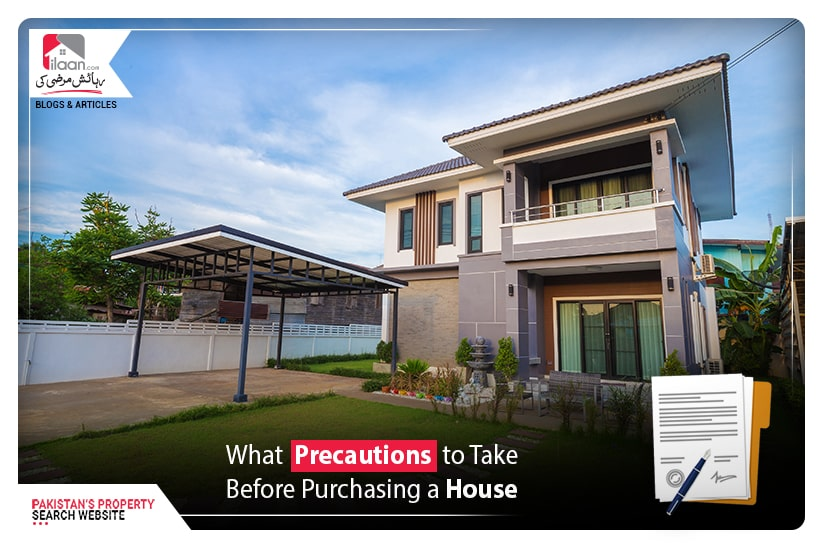 What Precautions to take before purchasing house & property
