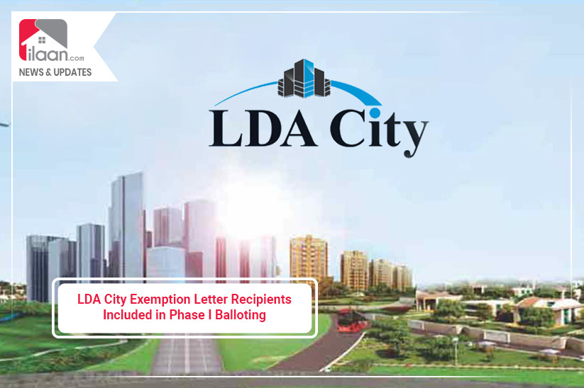 LDA City Exemption Letter Recipients Included in Phase I Balloting