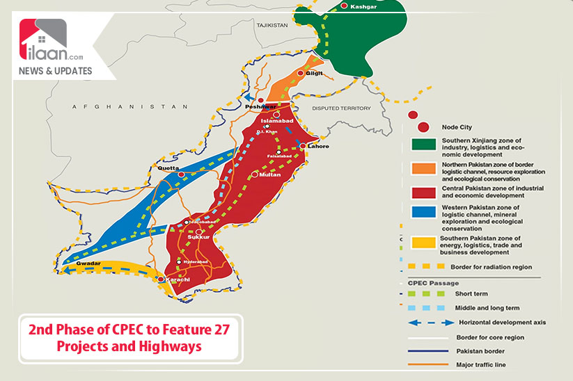 2 nd Phase of CPEC to Feature 27 Projects and Highways