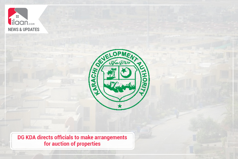 DG KDA directs officials to make arrangements for auction of properties