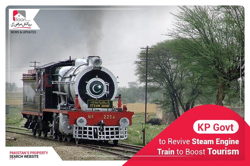KP govt. to revive steam engine train to boost tourism