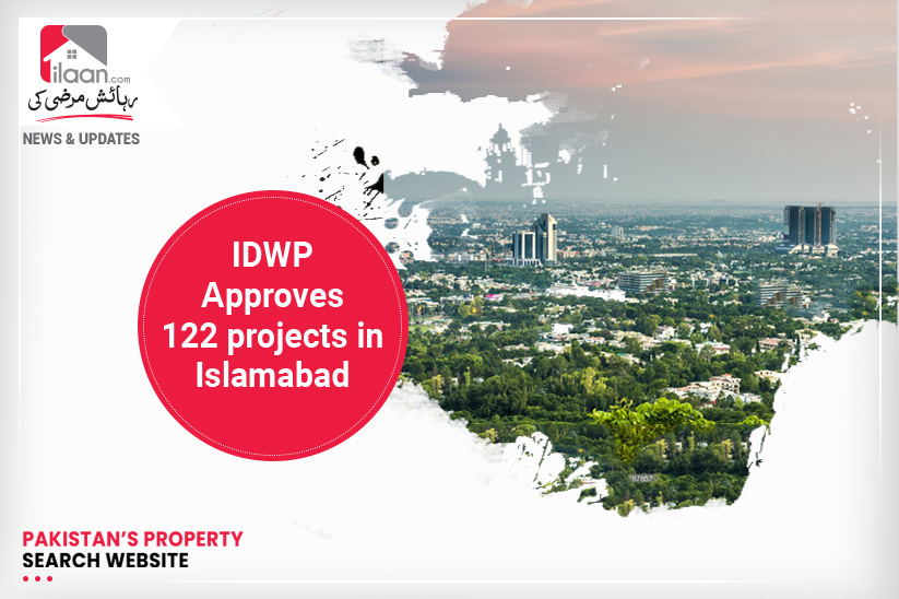 IDWP approves 122 projects in Islamabad