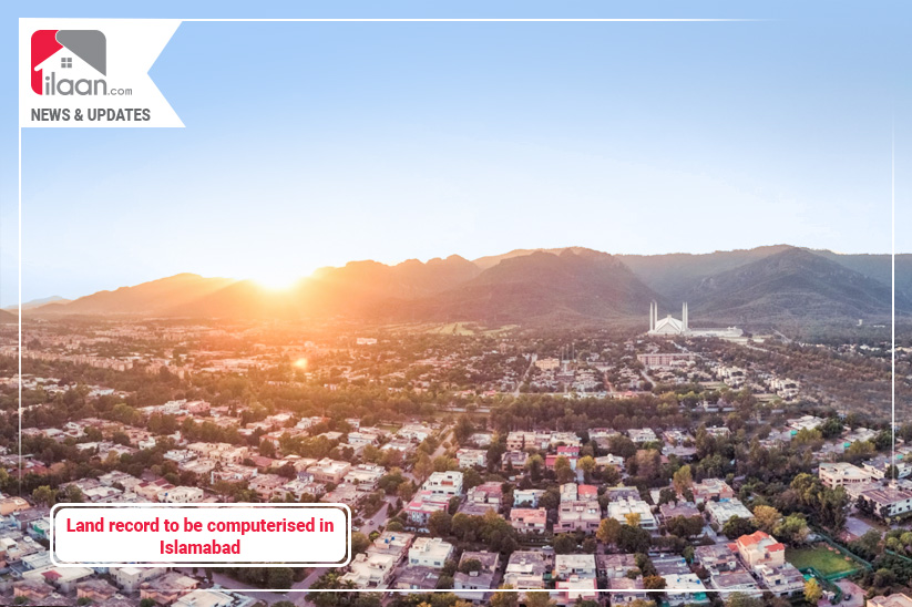 Land record to be computerized in Islamabad