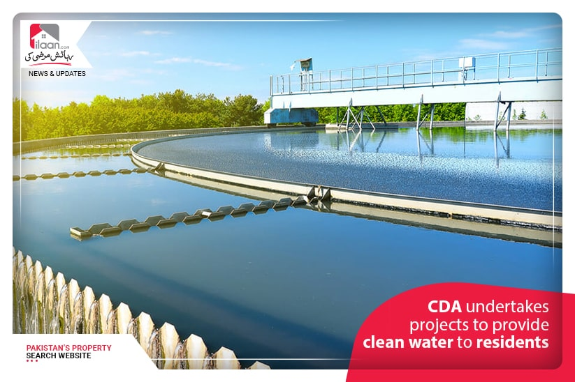 CDA undertakes projects to provide clean water to residents
