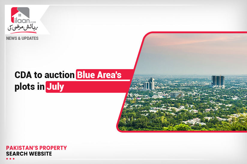 CDA to auction Blue Area's plots in July