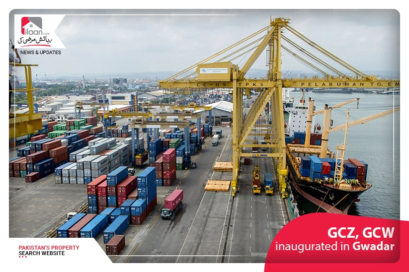 GCZ, GCW inaugurated in Gwadar