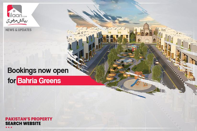 Bookings now open for Bahria Greens Karachi