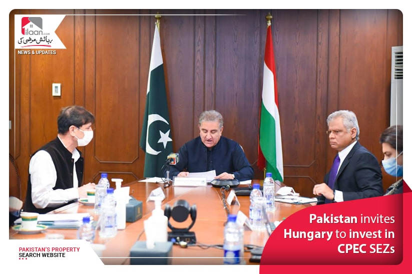 Pakistan invites Hungary to invest in CPEC SEZs