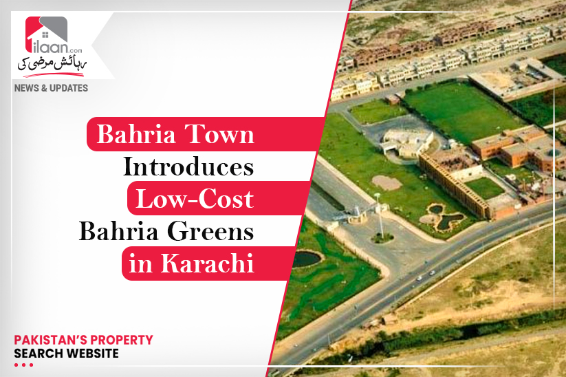 Bahria Town Introduces Low-Cost Mega Housing Project Bahria Greens in Karachi