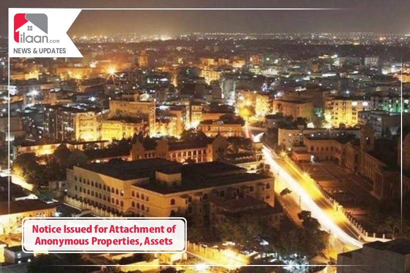Notice Issued for Attachment of Anonymous Properties, Assets
