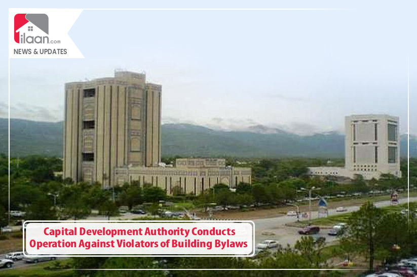Capital Development Authority Conducts Operation Against Violators of Building Bylaws