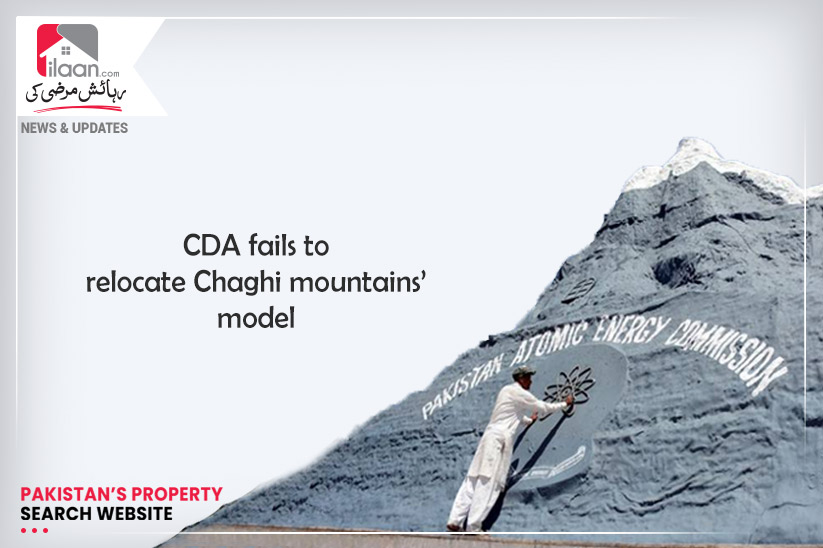 CDA fails to relocate Chaghi mountains' model