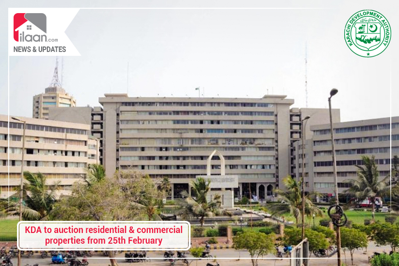 KDA to auction residential and commercial properties from 25th February