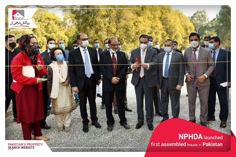 NPHDA launched first assembled house in Pakistan