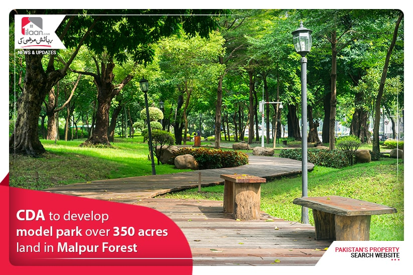 CDA to develop model park over 350 acres land in Malpur Forest