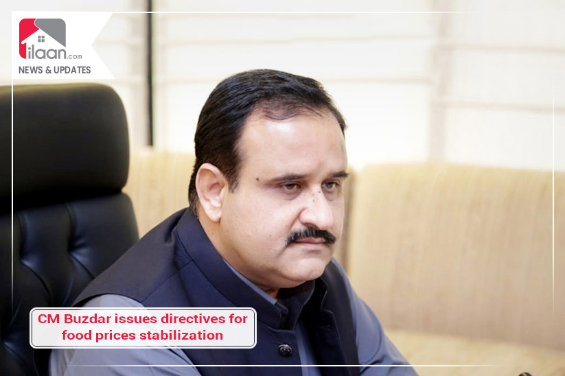 CM Buzdar issues directives for food prices stabilization