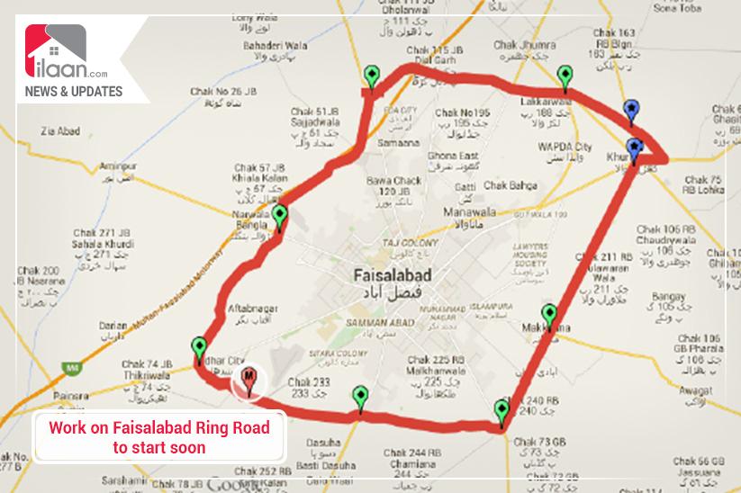 Work on Faisalabad Ring Road to start soon