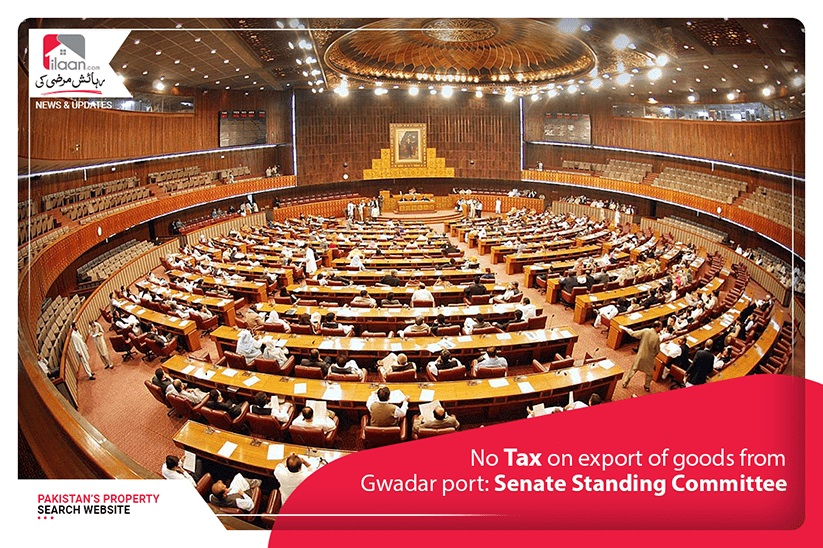 No tax on export of goods from Gwadar port: Senate Standing Committee