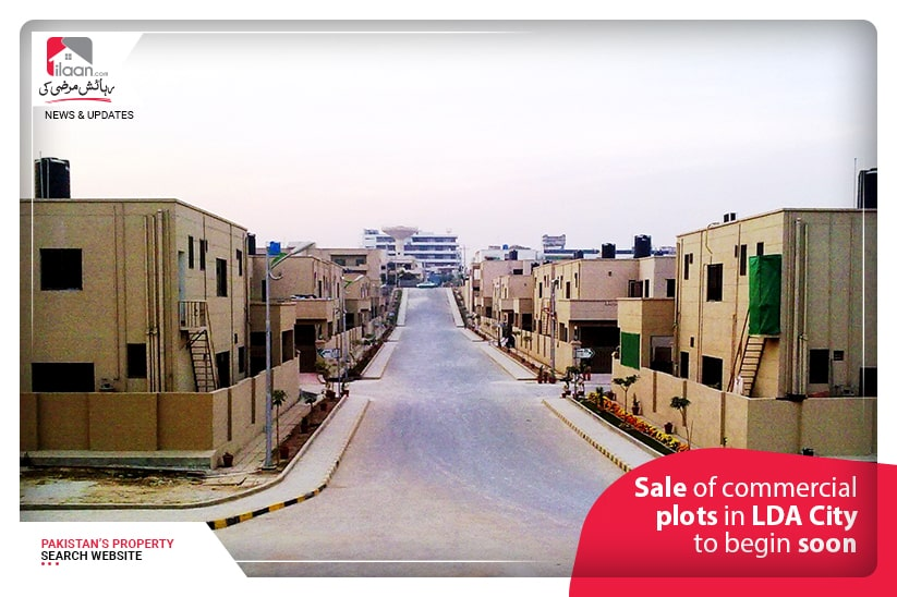 Sale of commercial plots in LDA City to begin soon