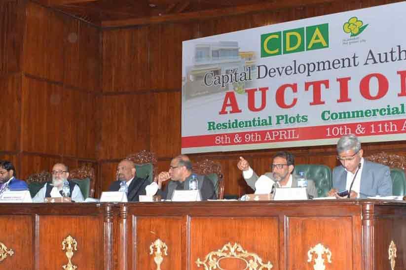 Four day land auction event generates PKR 11 billion