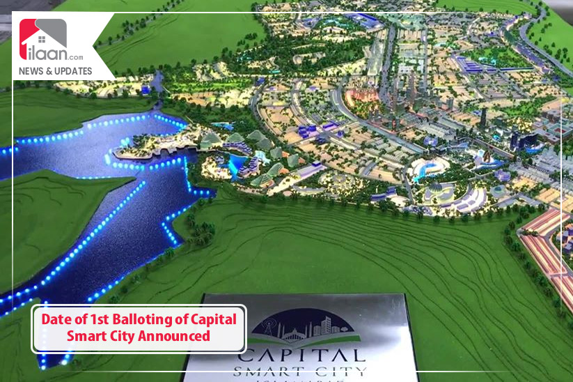 Date of 1st Balloting of Capital Smart City Announced