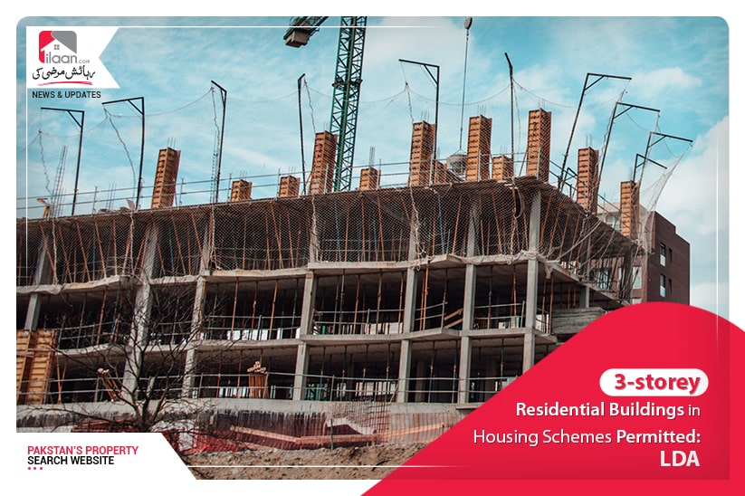 3-storey residential buildings in housing schemes permitted: LDA