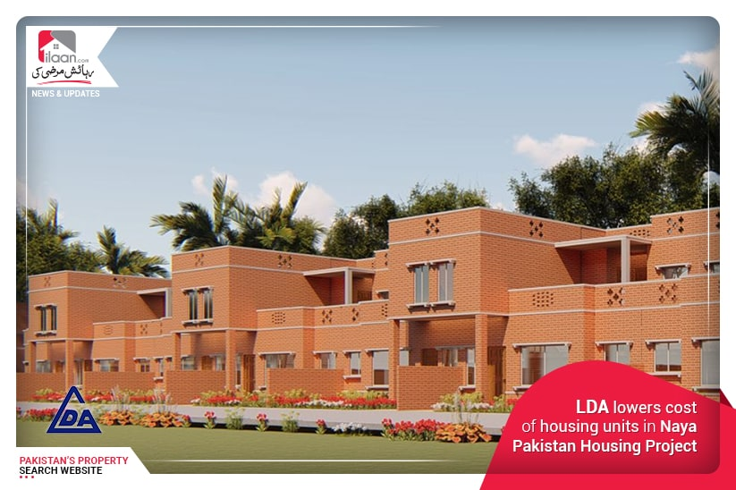 LDA lowers cost of housing units in Naya Pakistan Housing Project
