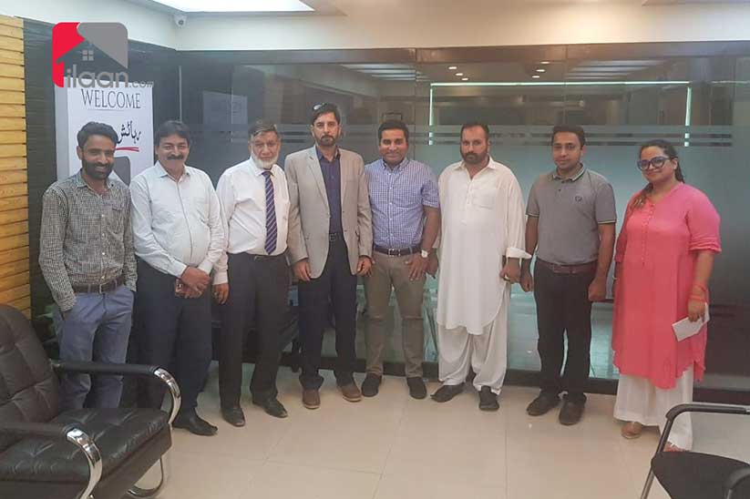 Meeting of DHA City Association with ilaan.com