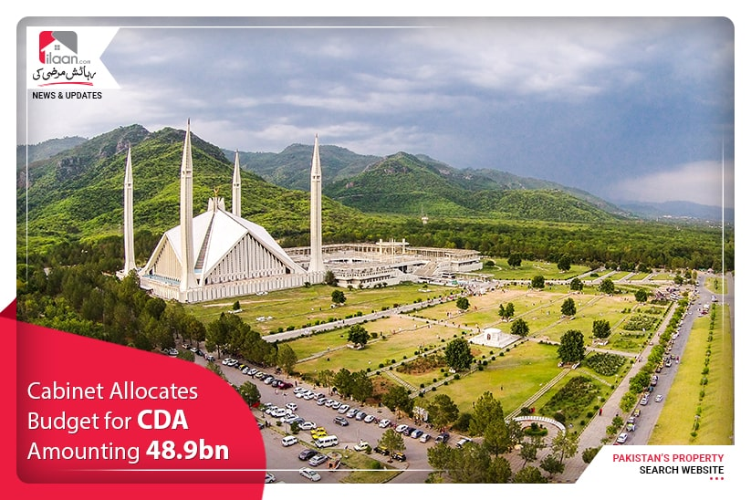 Cabinet allocates budget for CDA amounting 48.9bn