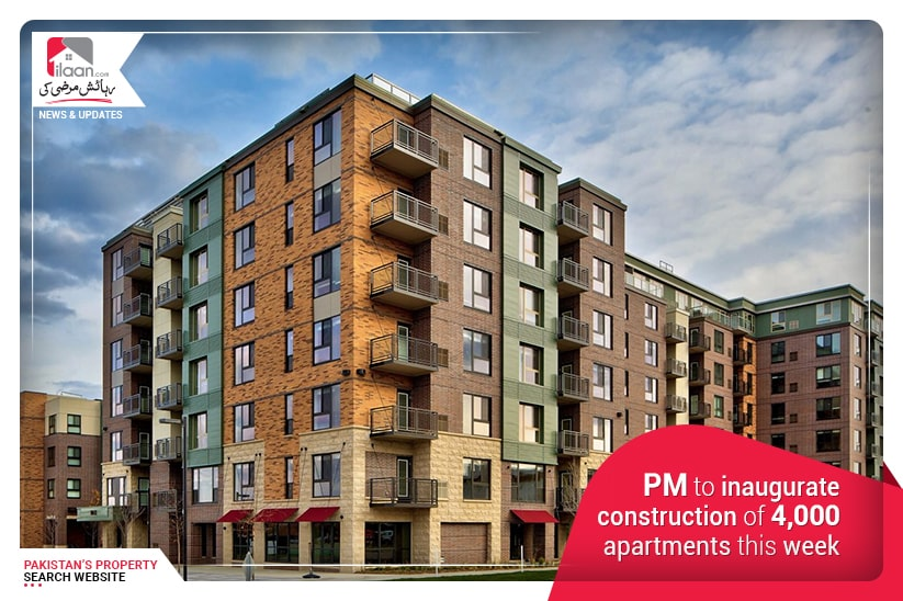PM to inaugurate construction of 4,000 apartments this week