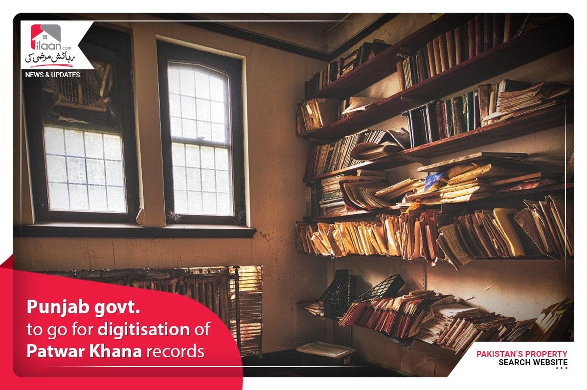 Punjab govt. to go for digitisation of Patwar Khana records