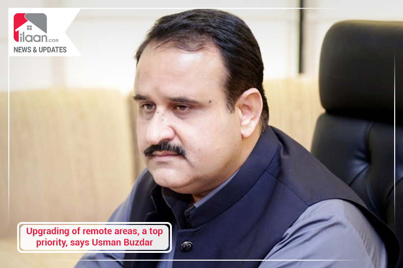 Upgrading remote areas, a top priority, says Usman Buzdar