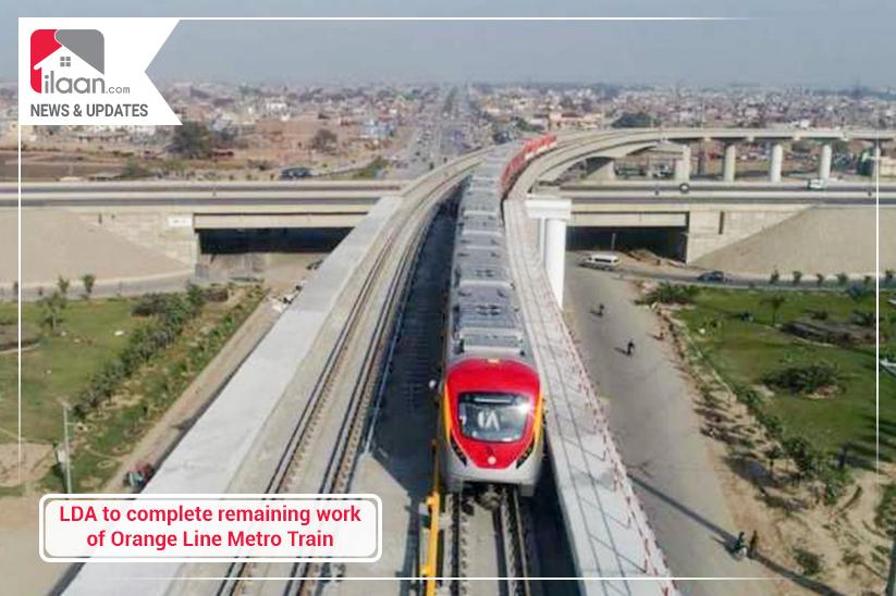 LDA to complete remaining work of Orange Line Metro Train
