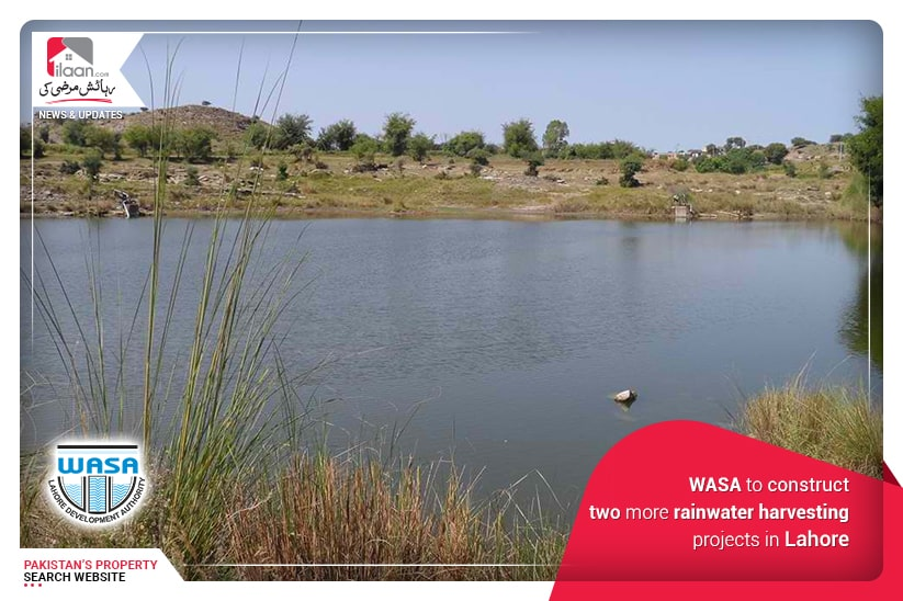 WASA to construct two more rainwater harvesting projects in Lahore