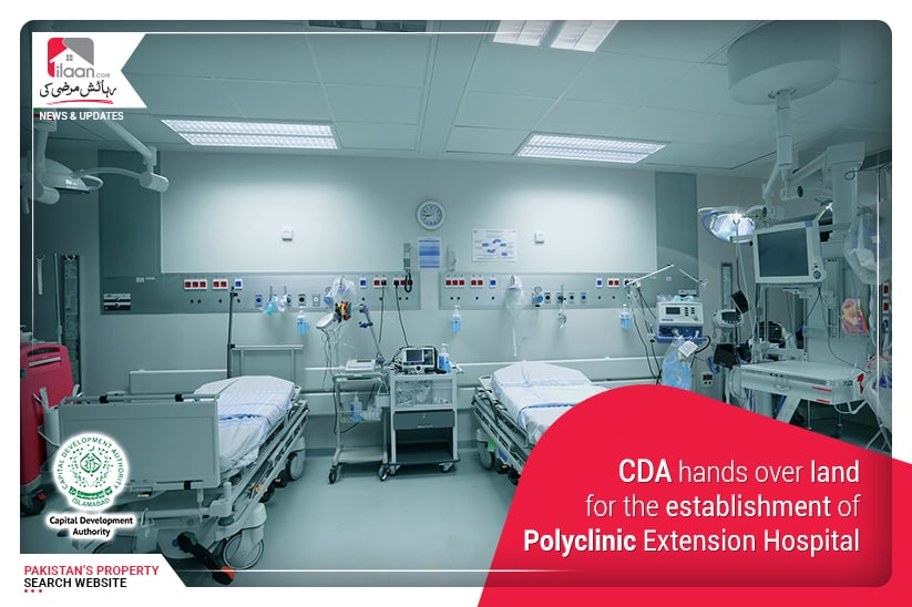 CDA hands over land for the establishment of Polyclinic Extension Hospital
