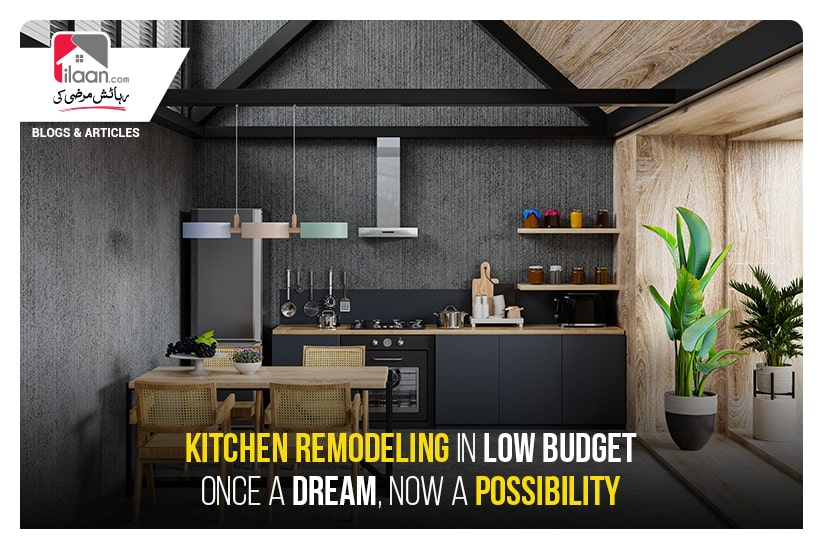 Kitchen Remodelling in Low Budget - Once a Dream, Now a Possibility