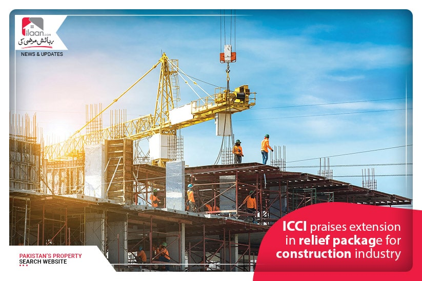 ICCI praises extension in relief package for construction industry