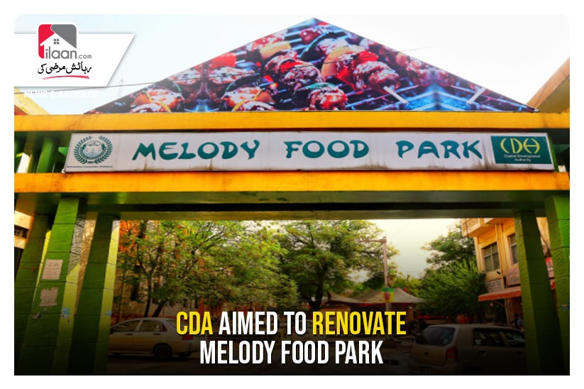 CDA aimed to renovate Melody Food Park